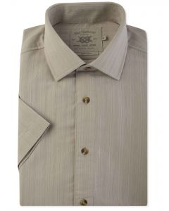 Stone Soft Touch Short Sleeve Casual Shirt Front