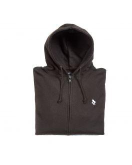 Full Zip Black Hoodie Lifestyle