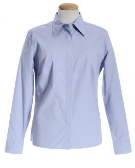 Lilac Classic Collar Women's Shirt