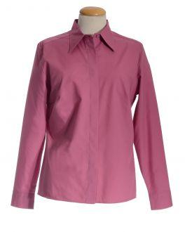 Dusky Pink Classic Collar Women's Shirt