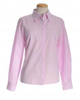 New Pink Classic Collar Women's Shirt