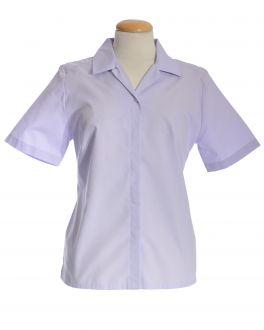 Lilac Short Sleeve Women's Shirt