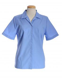 Cornflower Blue Short Sleeve Women's Shirt