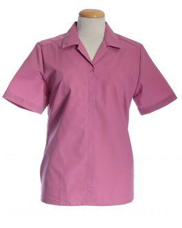 Dusky Pink Short Sleeve Women's Shirt