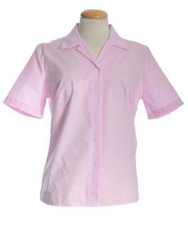 New Pink Short Sleeve Women's Shirt