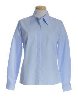 Glacier Blue Classic Collar Women's Shirt