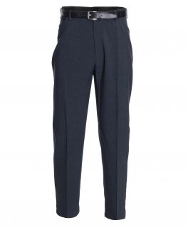 Grey Polyester Trousers