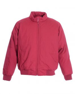 Red Winter Padded Jacket