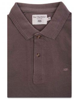 Bar Harbour Brown Knot Polo Shirt