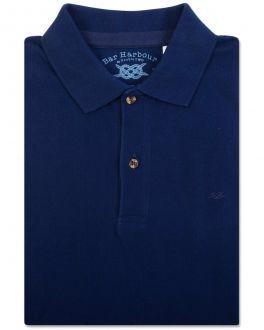 Bar Harbour Navy Knot Polo Shirt