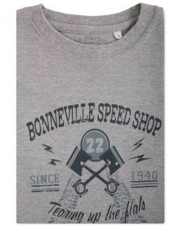 Bar Harbour Grey Bonnville Speed Shop Print T-Shirt