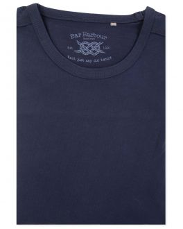 Men's Navy Long Sleeve T-Shirt