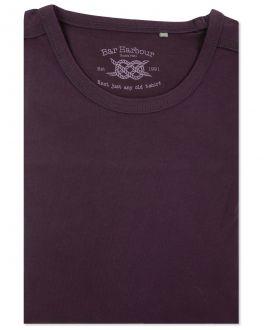 Men's Purple Long Sleeve T-Shirt