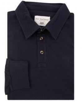 Men's Ink Long Sleeve Polo Shirt