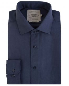 Navy Soft Touch Casual Shirt