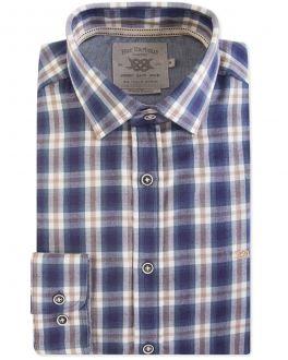 Men's Blue Diesel Check Casual Shirt