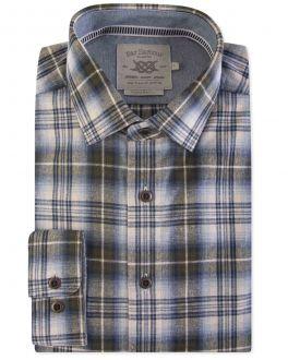 Men's Sage Woodland Check Casual Shirt