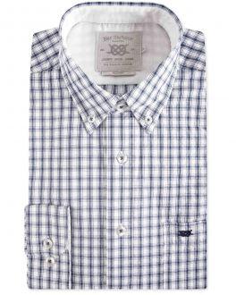 Men's Ink Eddie Oxford Check Casual Shirt
