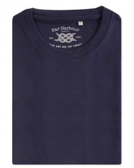 Ink Ribbed Neck T-Shirt