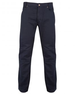 Navy Jean Style Trousers