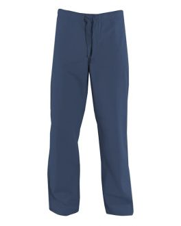 Navy Canvas Trousers Front