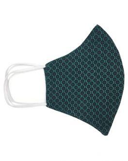 Green Mini Dot Cotton Face Mask