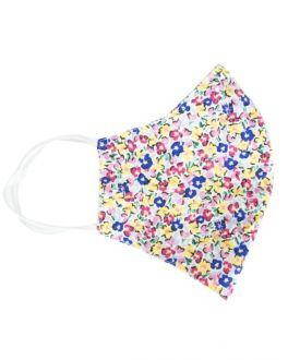 Multi Mini Floral Cotton Face Mask