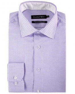 Lilac Dogtooth Formal Shirt