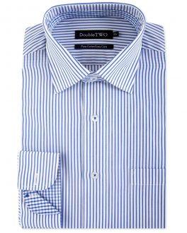 Blue Candy Stripe Formal Shirt