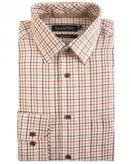 Bracken Check Warm Handle Formal Shirt