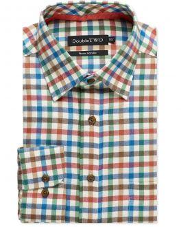 Multicoloured Tattersall Check Warm Handle Shirt