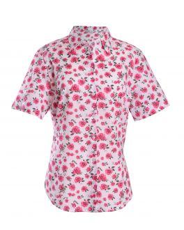 Rose Patterned Blouse