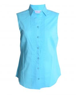 Peacock Classic Fit Sleeveless Blouse