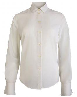Ivory Silky Feel Women's Shirt