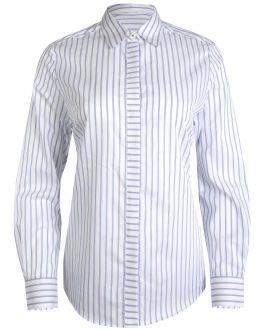 Blue Bar Stripe Women's Shirt