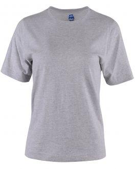 Old Salt Ladies Plain Grey T-Shirt Front