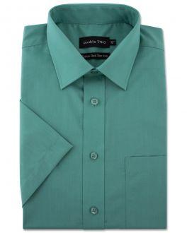 Marine Green Short Sleeve Non-Iron Shirt