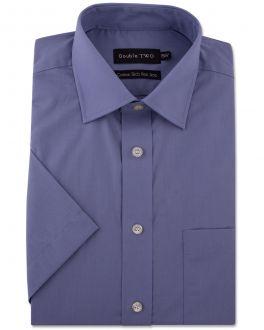 Grape Short Sleeve Non-Iron Shirt