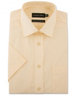 Lemon Short Sleeve Non-Iron Shirt
