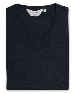 Graphite Sleeveless V Neck Sweater