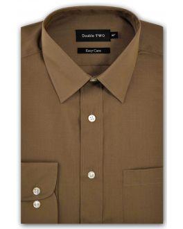 Mushroom Classic Easy Care Long Sleeve Shirt