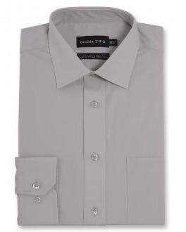 Stone Long Sleeve Non-Iron Shirt