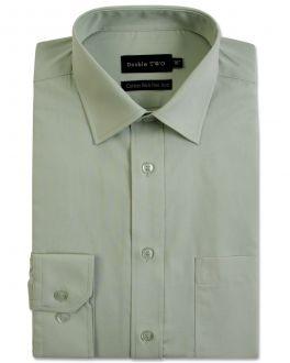 Pale Sage Long Sleeve Non-Iron Shirt
