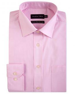 New Pink Long Sleeve Non-Iron Shirt