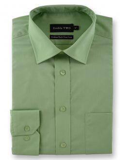 Green Long Sleeve Non-Iron Shirt
