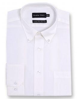 White Non-Iron Button Down Oxford Shirt