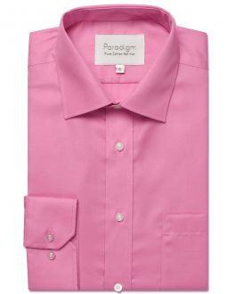Pink Luxury Pure Cotton Non Iron Shirt