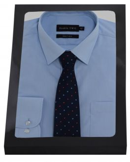 Blue Formal Shirt  Set