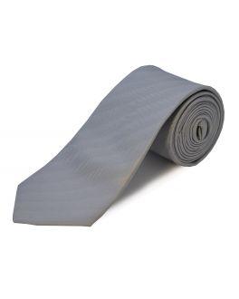 Silver Extra Long Tie