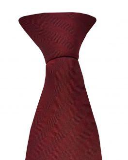 Maroon Clip On Tie